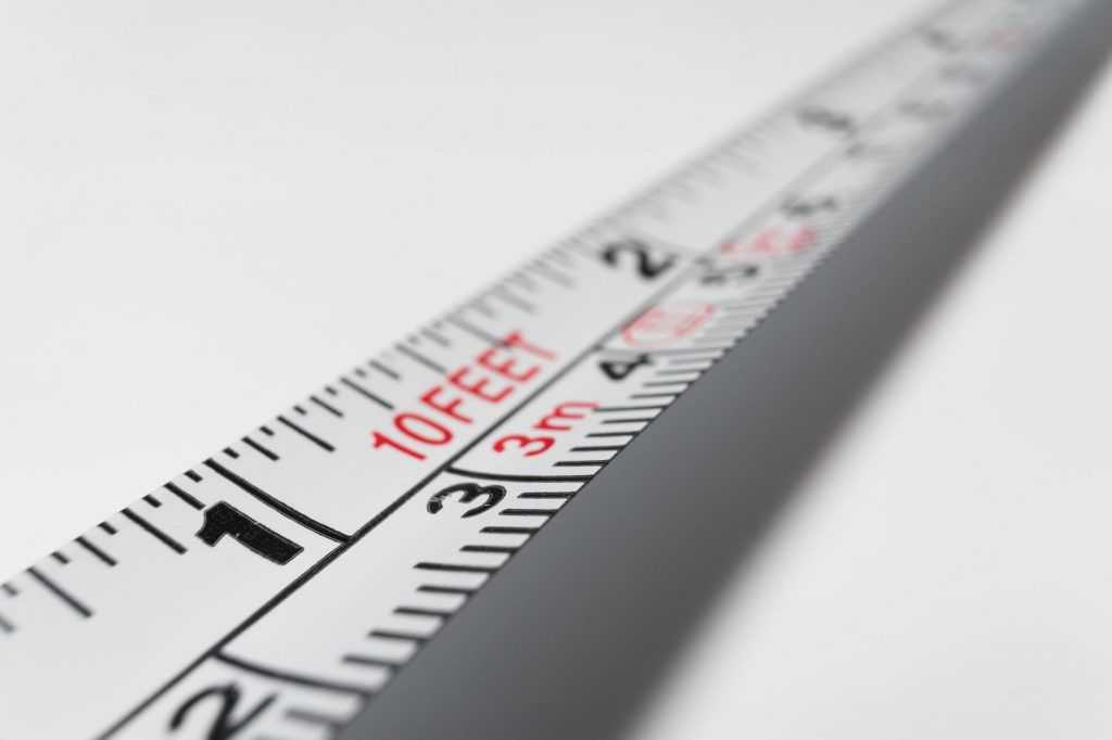 Measuring Tape for Measuring Rooms, Decks and Patios